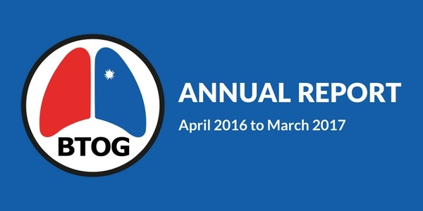 BTOG Annual Report 2016/2017